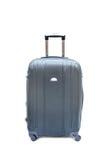 Black luggage isolated. On white background Stock Images