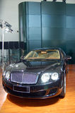 A black luxury car. Which taken in china Royalty Free Stock Image