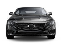 Black luxury coupe Royalty Free Stock Photography