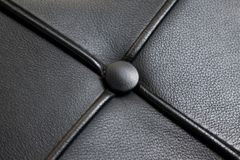 Black luxury leather texture old skin. Background Royalty Free Stock Photo