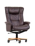 Black Luxury Office Chair Royalty Free Stock Photo