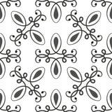 black mönsan seamless white stock illustrationer