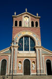 Black Madonna Church in Tindary. Sicily Stock Photography