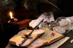 Black Magic Ritual Stock Images