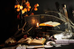 Black Magic Ritual Stock Photography