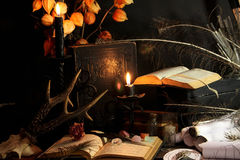 Black Magic Ritual Stock Photos