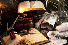 Black Magic Ritual Royalty Free Stock Images