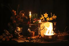Black Magic Spells. Real black magic spells with virtually unlimited power cast for you: When other magic or wiccan spells have fa. Black magic, as white magic Royalty Free Stock Photo