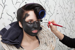 Black makeup Royalty Free Stock Photo