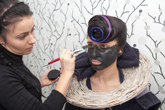 Black makeup Stock Photography