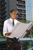 Black Male Architect Stock Photography