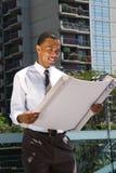 Black Male Architect Stock Photography