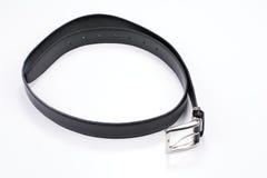 Black male belt rolled Stock Photo