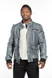 Black Male in Casual Lifestyle Outfit stock photos