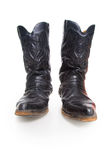 Black male high leather boots Royalty Free Stock Photo