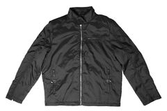 Black male jacket Royalty Free Stock Photography