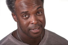 Black male surprised Royalty Free Stock Photography