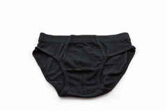 Black Male underwear. Royalty Free Stock Photography