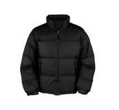 Black male winter vest Stock Photography