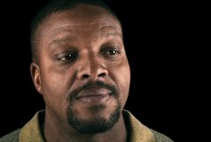 Black Man Royalty Free Stock Image