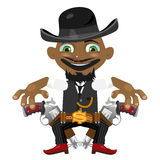 Black man, cartoon fictional character Stock Image