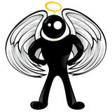Black man icon - Angel Stock Photography
