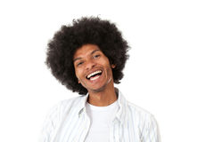 Black man laughing Stock Photos