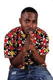 Black Man Praying.