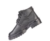 Black man's boot. Stock Image