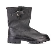 Black man's boot. Stock Photography