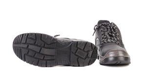 Black man's boots. Stock Image