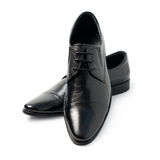 The black man's shoes Royalty Free Stock Image