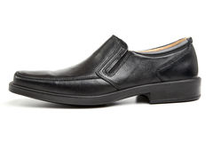 Black man's shoes Stock Photo