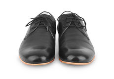 Black man's shoes Royalty Free Stock Photography