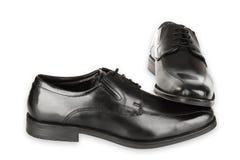 Black Man Shoes Stock Images