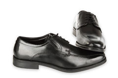 Black man shoes Stock Images