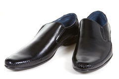 Patent-leather shoes Royalty Free Stock Image