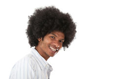 Black man smiling Stock Photo