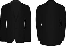 Black man suit. Vector illustration Royalty Free Stock Photography