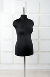 Black mannequin dress form close-up Royalty Free Stock Photography