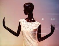 Black mannequin Stock Image