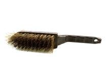 Black manual brush on metal Royalty Free Stock Image