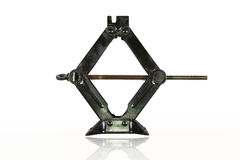Black manual jack for car lifter Stock Images
