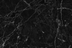 Black marble natural pattern for background. Stock Photos