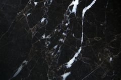 Black marble. Natural stone texture background Royalty Free Stock Image