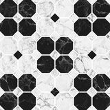 Black Marble pattern texture Royalty Free Stock Image