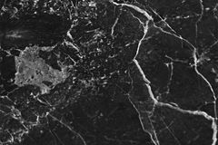 Black marble patterned texture background, Detailed genuine marble from nature. Royalty Free Stock Photography