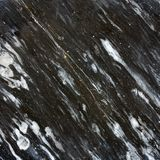 Black marble stone Stock Images
