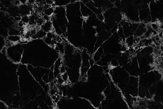 Black marble texture background, Detailed genuine marble from nature. Stock Photo