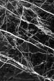 Black marble texture background, Detailed genuine marble from nature. Stock Images